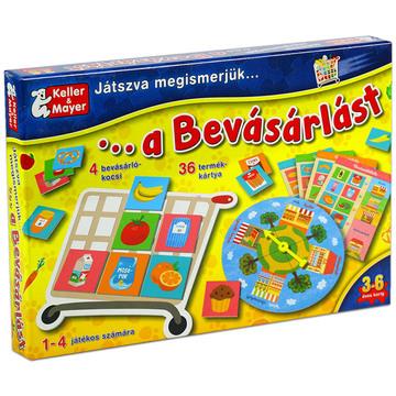 Játszva ismerjük meg a bevásárlást társasjáték