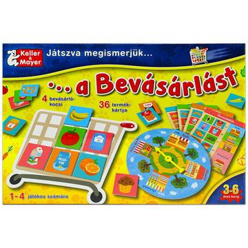 Játszva ismerjük meg a bevásárlást társasjáték - . kép
