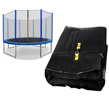 Spartan: Plasă de protecție pentru trambuline de 244 cm - cu 3 picioare și 6 stâlp