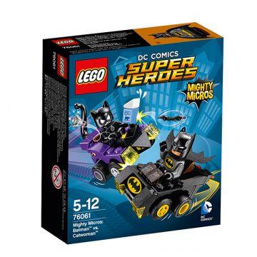 LEGO SUPER HEROES: Mini szuperhős szett: Batman vs. Macskanő 76061