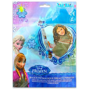 Disney hercegnők: Jégvarázs felfújható világító varázspálca - 67 cm