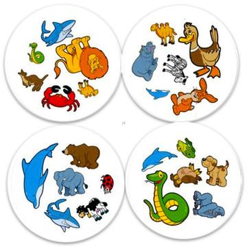 Dobble Kids joc de cărţi cu instrucţiuni în lb. maghiară - .foto