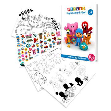 Pocoyo - caiet educativ în lb. maghiară