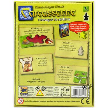 Carcassonne: a 3. kiegészítés - Hercegnő és sárkány társasjáték - . kép