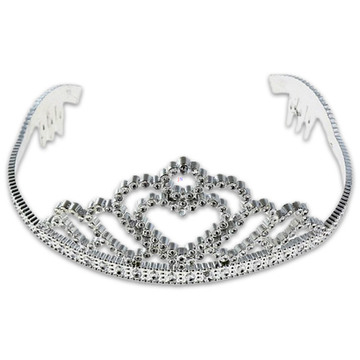 Ezüst tiara