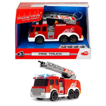 Action Series: mini tűzoltóautó víztartállyal - 15 cm