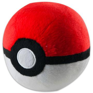 Tomy: Pokémon Pokéball plüss pokélabda - 12 cm