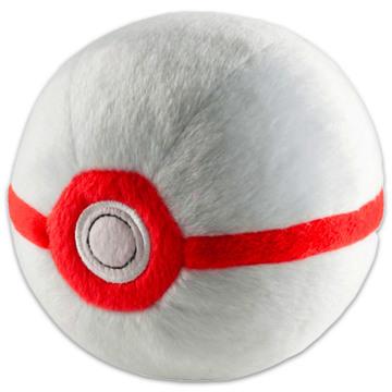 Tomy Pokémon plüss pokélabda - fehér prémium labda