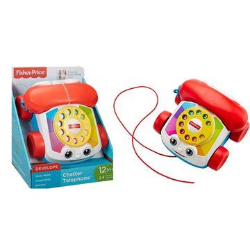Fisher-Price: Telefon clasic pentru dezvoltarea abilităţilor