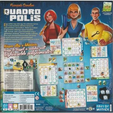 Quadropolis, a csoda napjai társasjáték - . kép