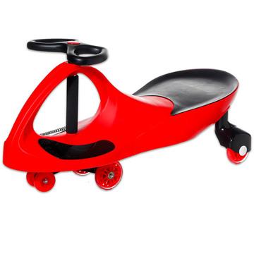 BoboCar gumikerékkel - piros
