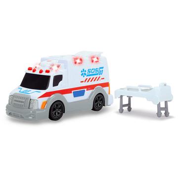 Dickie: Action series - mini mentőautó, 15 cm