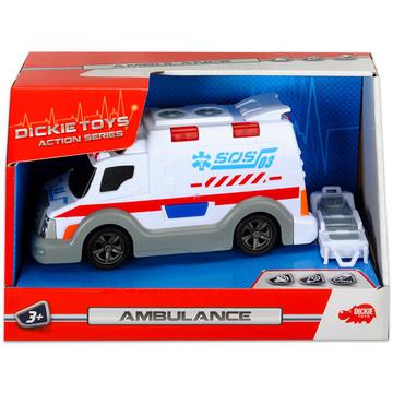 Dickie: Action series - mini mentőautó, 15 cm - . kép