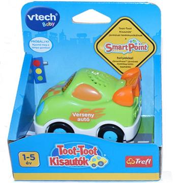 Vtech: Toot-toot interaktív versenyautó - . kép