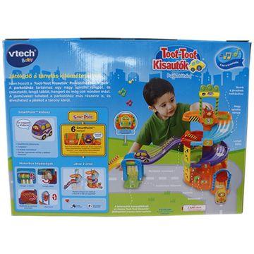 Vtech: Toot-toot parkolóház pálya szett - . kép