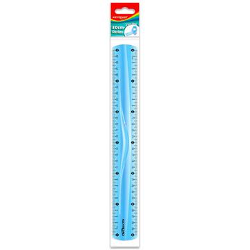 Keyroad flexibilis vonalzó - 30 cm, fiús színekben