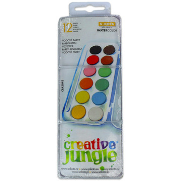Creative Jungle: 12 darabos kicsi vízfesték
