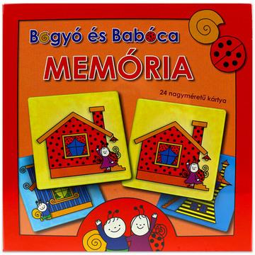 Bogyó şi Babóca: joc de memorie cu instrucţiuni în lb. maghiară