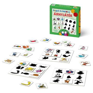Bogyó şi Babóca: joc cu umbre cu instrucţiuni în lb. maghiară - .foto