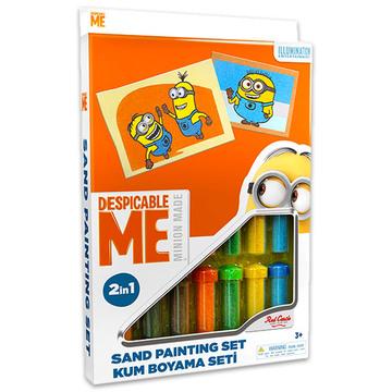 Minyonok: homokfestő készlet