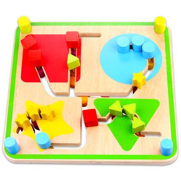 Fa labirintus játék - . kép