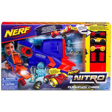 Nerf Nitro: Flashfury Chaos - autó kilövő játékkészlet