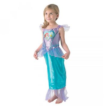 A kis hableány: szívecskés Ariel jelmez - S-es