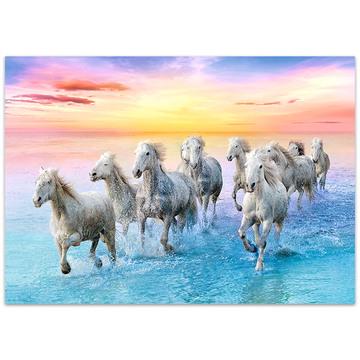 Trefl: vágtázó lovak 500 darabos puzzle - . kép
