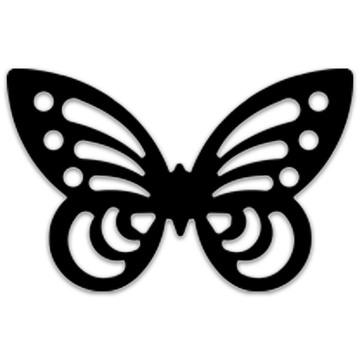 Pillangó 3D sziluett formalyukasztó - 38 mm - . kép