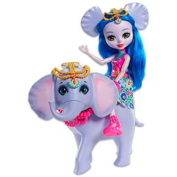 Enchantimals: Ekaterina elefánt és Antic figura - . kép
