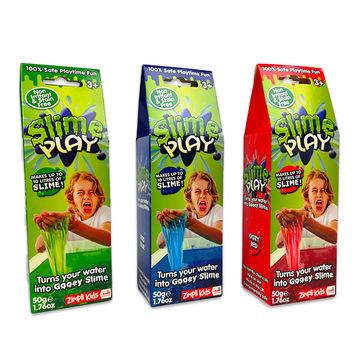 Slime play fürdőzselé, 50g - többféle - . kép