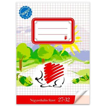 ICO Süni gata pentru şcoală: caiet cu pătrăţele - A5, 27-32