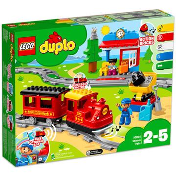 LEGO DUPLO: Gőzmozdony 10874 - . kép