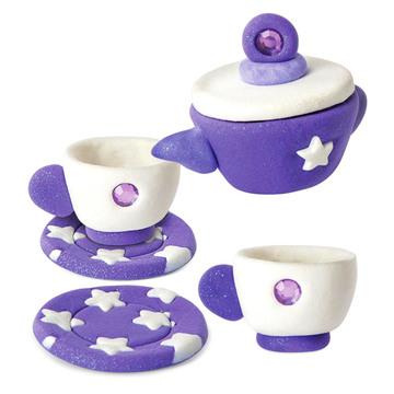 Twinkle Clay: teáskészlet gyurmaszett