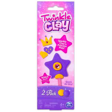 Twinkle Clay: kétszínes csomag - többféle