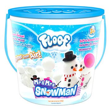 Floof! Hópehely gyurma: hóember készlet - 120g