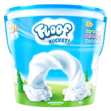Floof! Hópehely gyurma: vödrös készlet - 240g