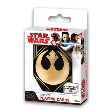 Star Wars: Az utolsó jedik díszdobozos kártyaszett