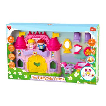 Tündérmese kastély játékfigura készlet hanggal - 11 darabos