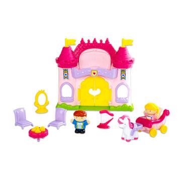 Tündérmese kastély játékfigura készlet hanggal - 11 darabos - . kép