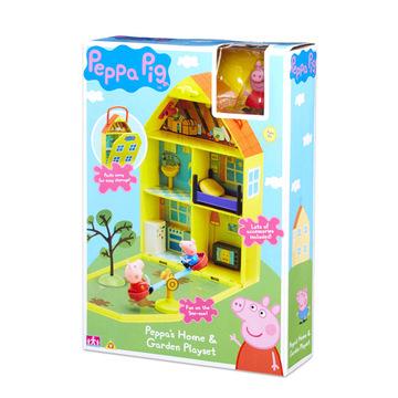 Peppa malac: Peppáék otthona és kertje játékszett