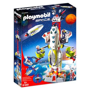 Playmobil: Mars rakétakilövő állomás 9488