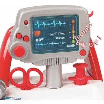 Smoby: doktor játékkocsi tartozékokkal és hangokkal - . kép