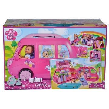 Evi Love: Evi baba lakókocsival