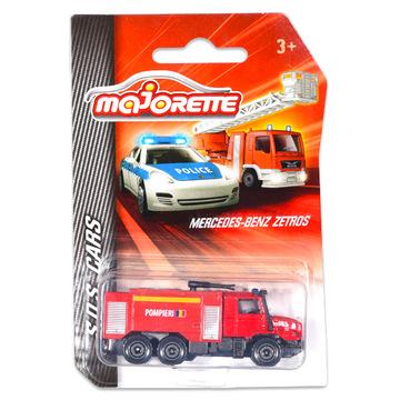 Majorette: Mercedes-Benz tűzoltóautó - román feliratos - . kép