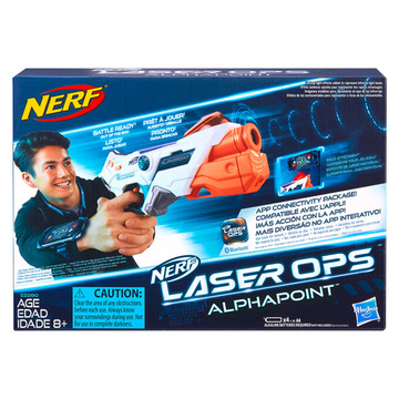 Nerf: Laser Ops Alphapoint lézerfegyver