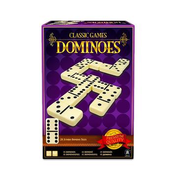 Classic Games: Dominó, nagyméretű - 28 darabos