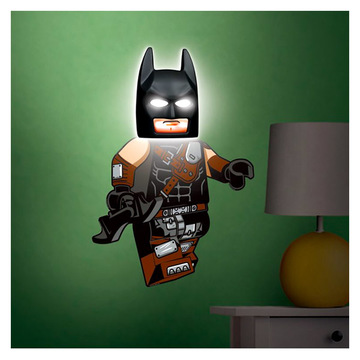 LEGO Movie 2: Lampă Batman cu sticker perete - .foto