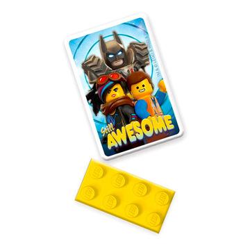 LEGO Movie 2: set radieră - .foto
