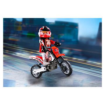 Playmobil: Motocross versenyző 9357 - . kép